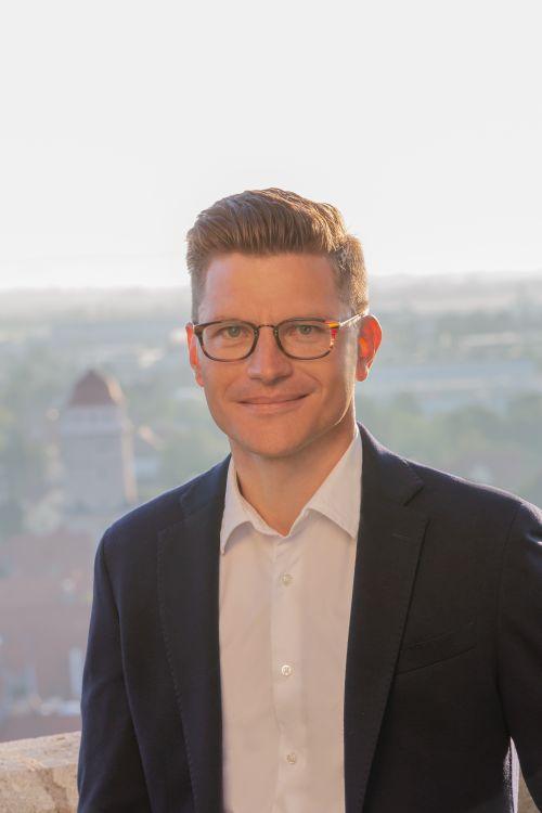 Oberbürgermeister Daniel Wittner